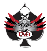 second logo for dv8 leather