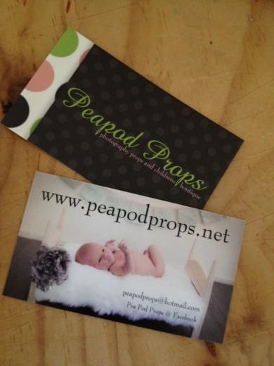 business card - online store