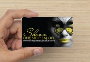 business card design front